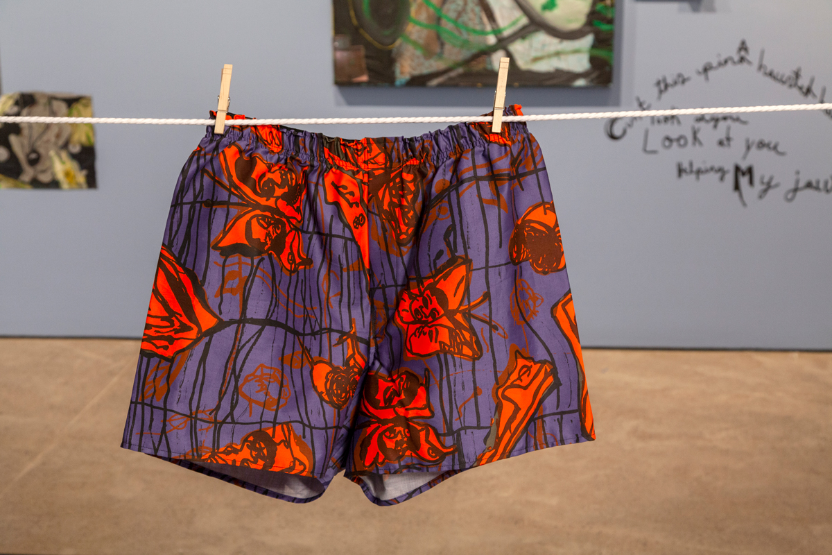Jonathan Lyndon Chase, in collaboration with The Fabric Workshop and Museum, Philadelphia, Big Wash (exhibition view), 2020.