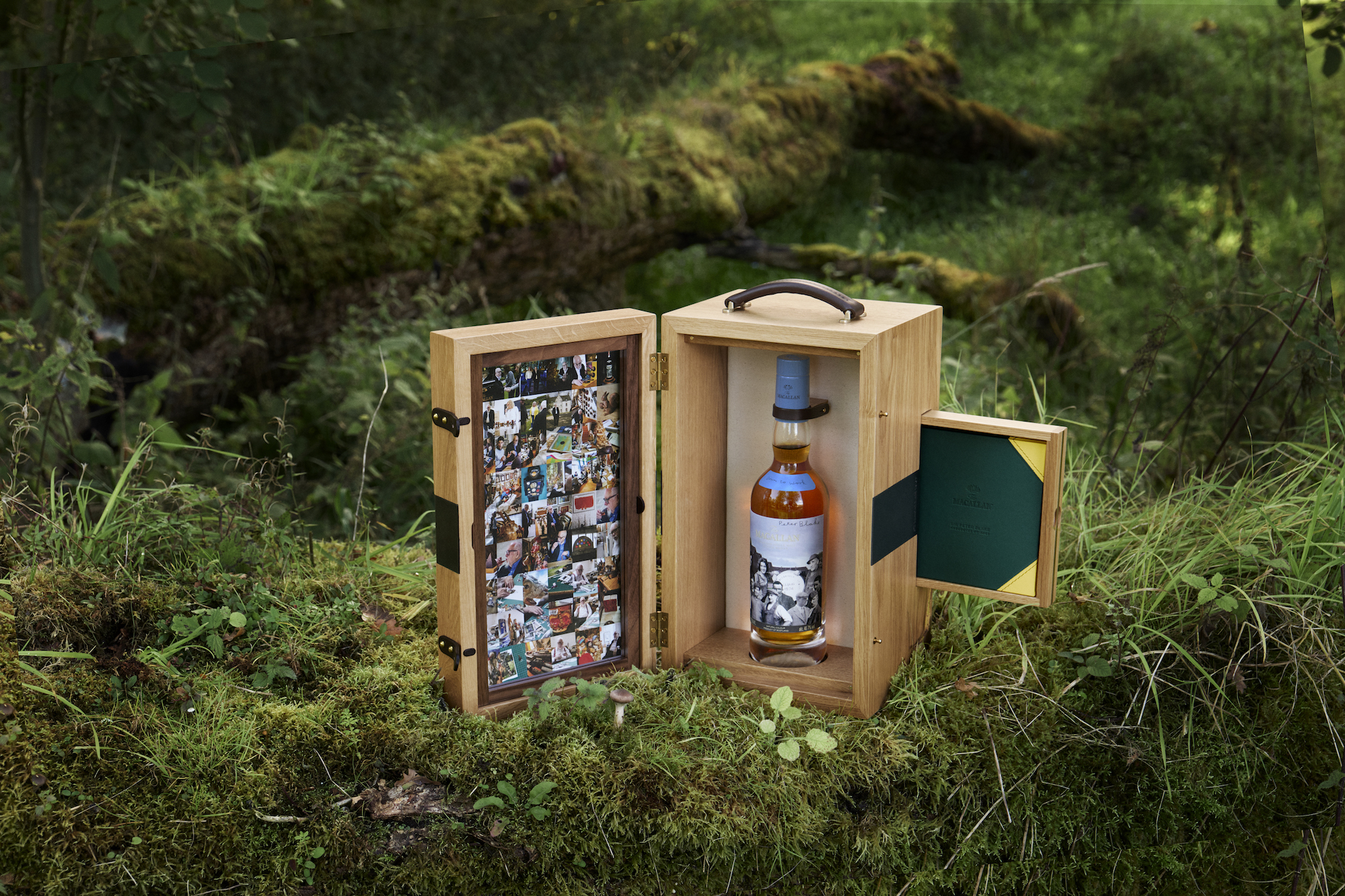 Down to Work whisky, a collaboration between Sir Peter Blake and The Macallan.