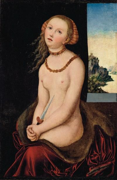 Lucas Cranach the Elder's Lucretia (ca. 16th century)