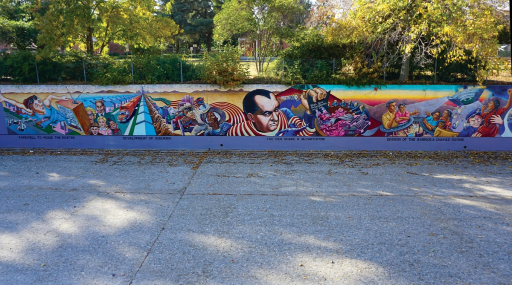 Judith F. Baca's Iconic 'Great Wall' Mural Gets an Update, Thanks to a Major Grant