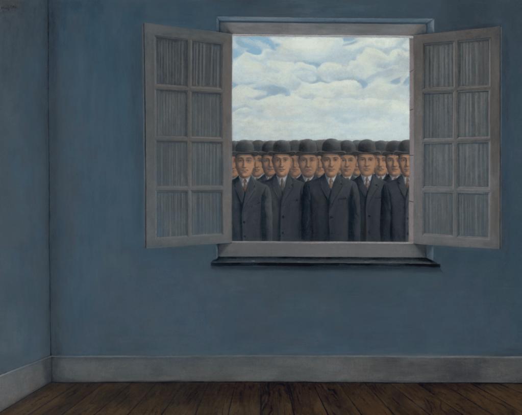 René Magritte work, Le mois des vendanges, 1959.