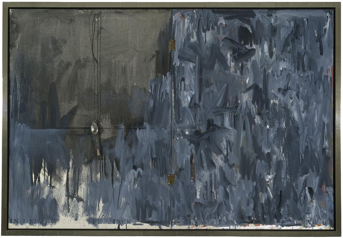Jasper Johns, In Memory of My Feelings - Frank O'Hara, 1961.