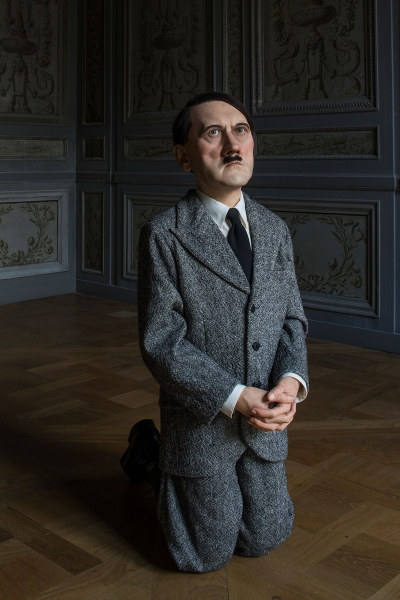 Marutizio Cattelan, Him, 2001, at La Monnaie Paris, 2016.