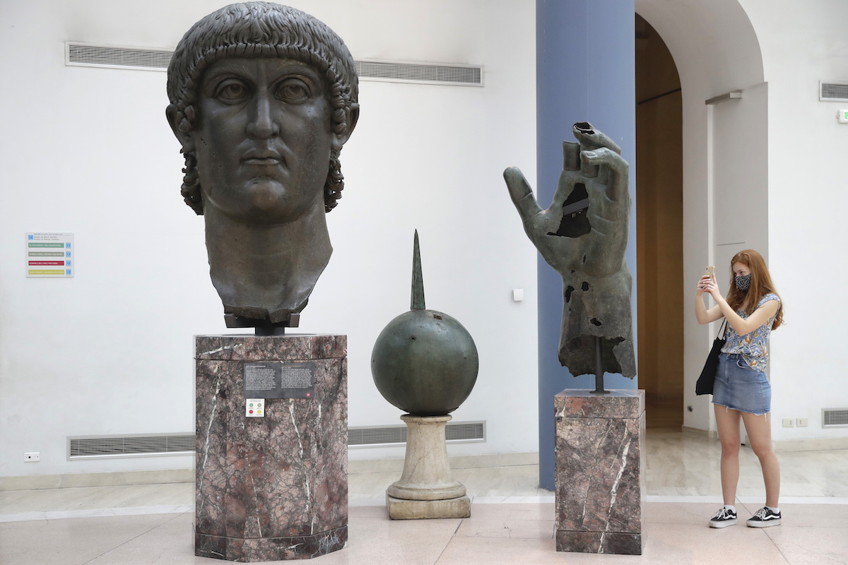 After 500 Years, Missing Finger of Constantine the Great is Reunited With Its Hand