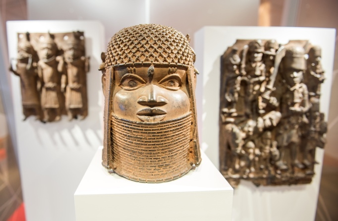 A 2018 exhibition about the Benin