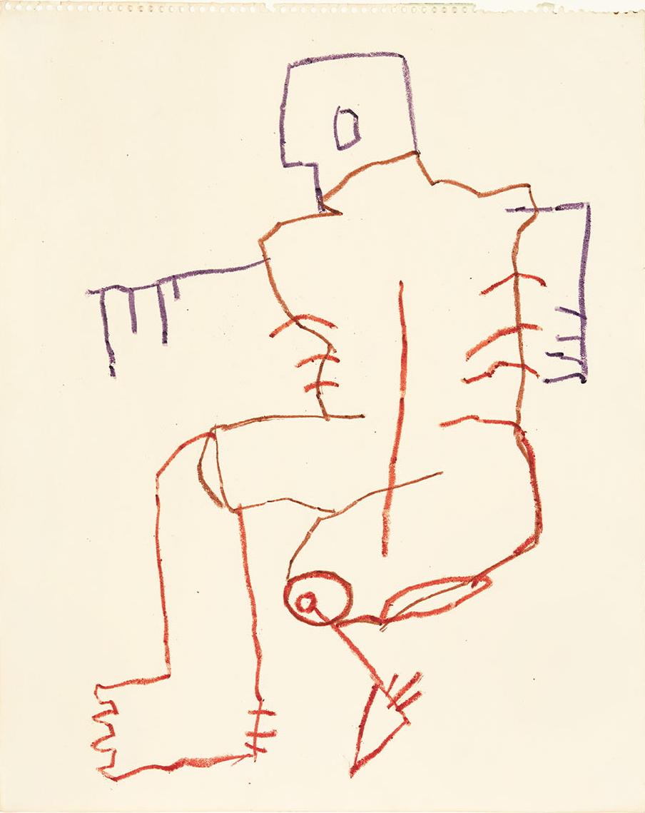Basquiat, Untitled (The Athlete)