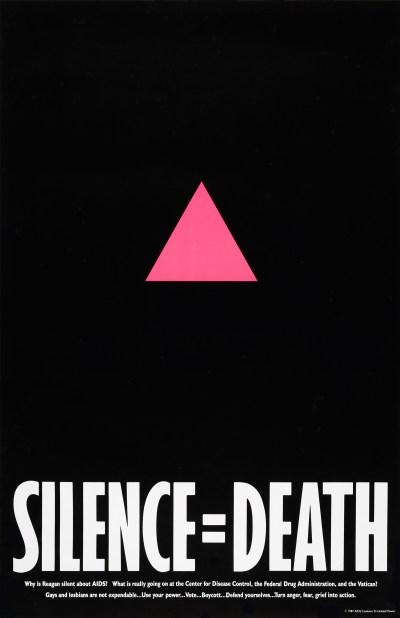 Silence = Death Project, Silence = Death, 1987.