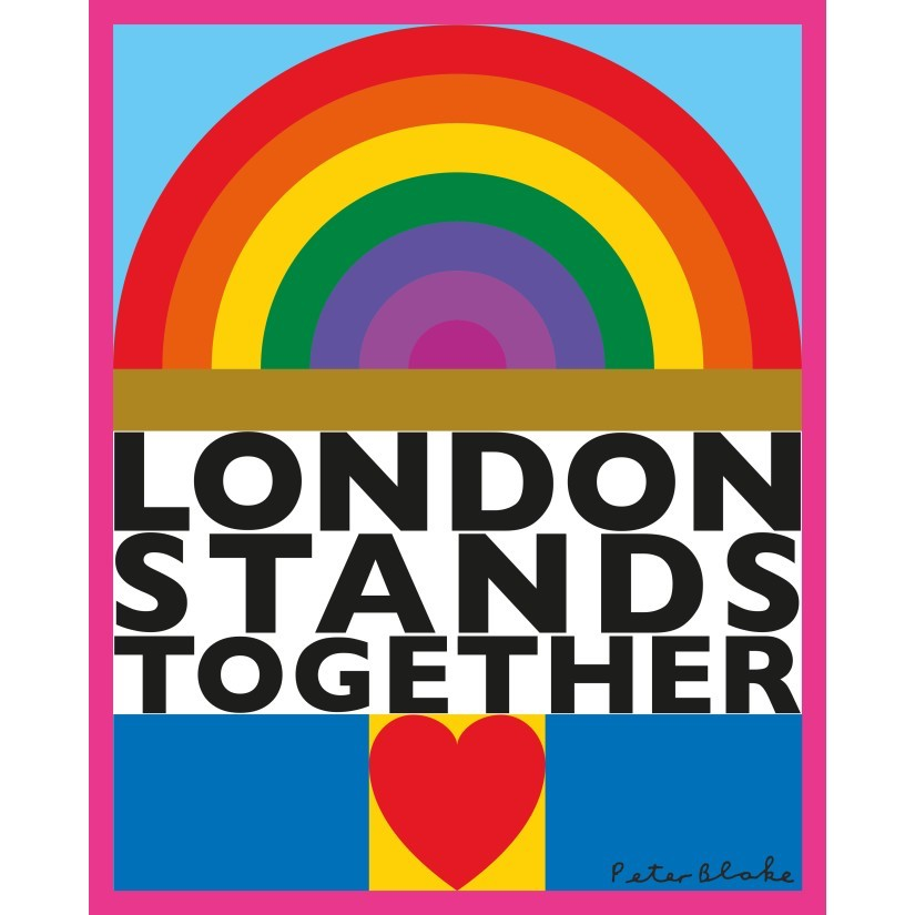 Peter Blake London Stands Together