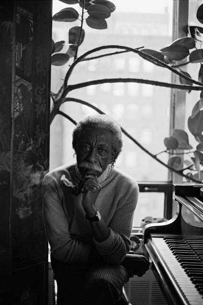 Ming Smith, Gordon Parks, New York City, NY, 1991.