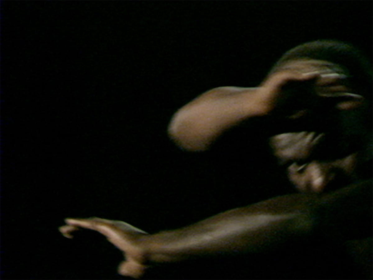 Production still from Marlon Riggs, Tongues Untied, 1989