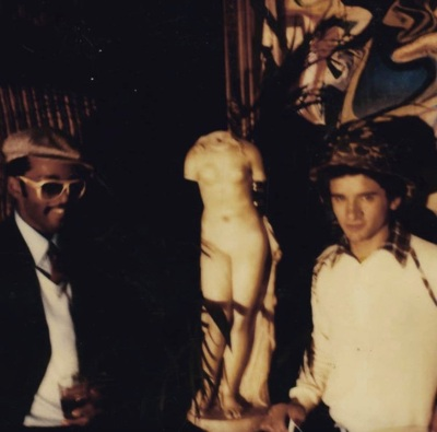 Fab 5 Freddy and Lee Quiñones
