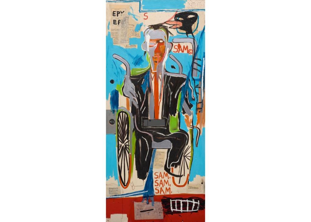 Dallas Museum Acquires Basquiat Apartment Door Painting: 'A TreasuredObject'