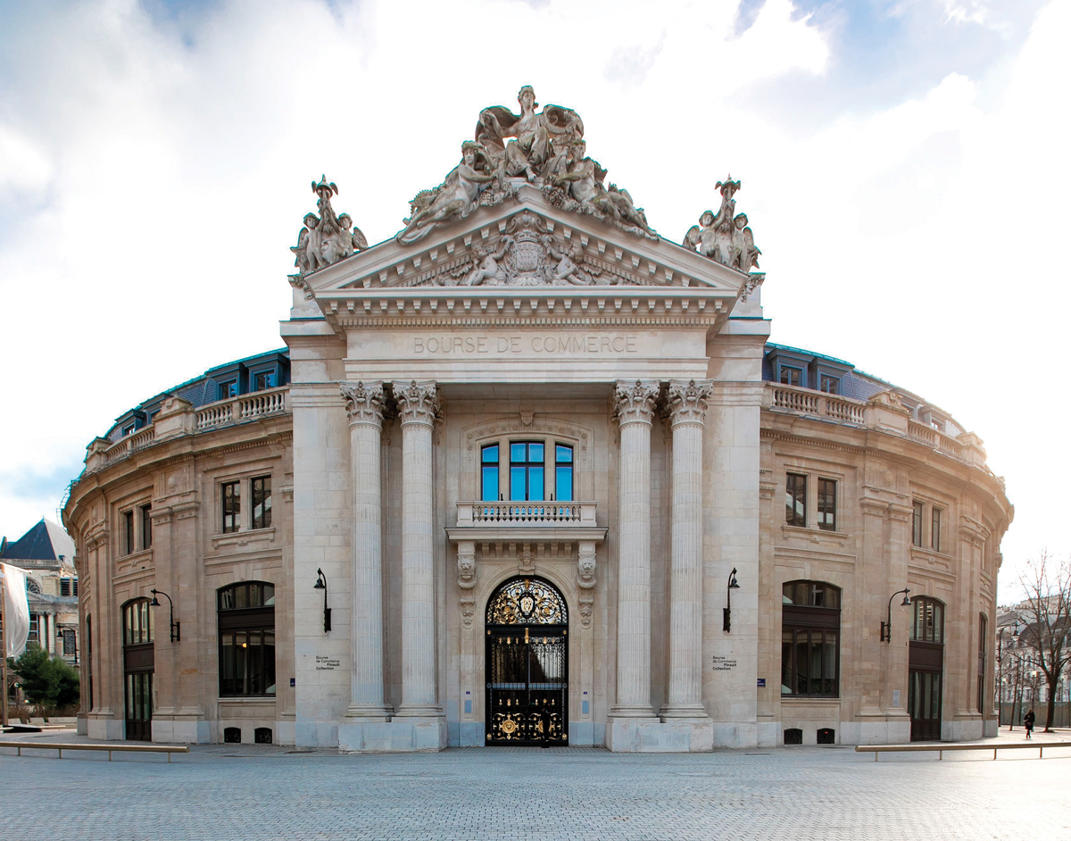 Exterior of the Bourse de Commerce, new home of François Pinault's contemporary art collection.