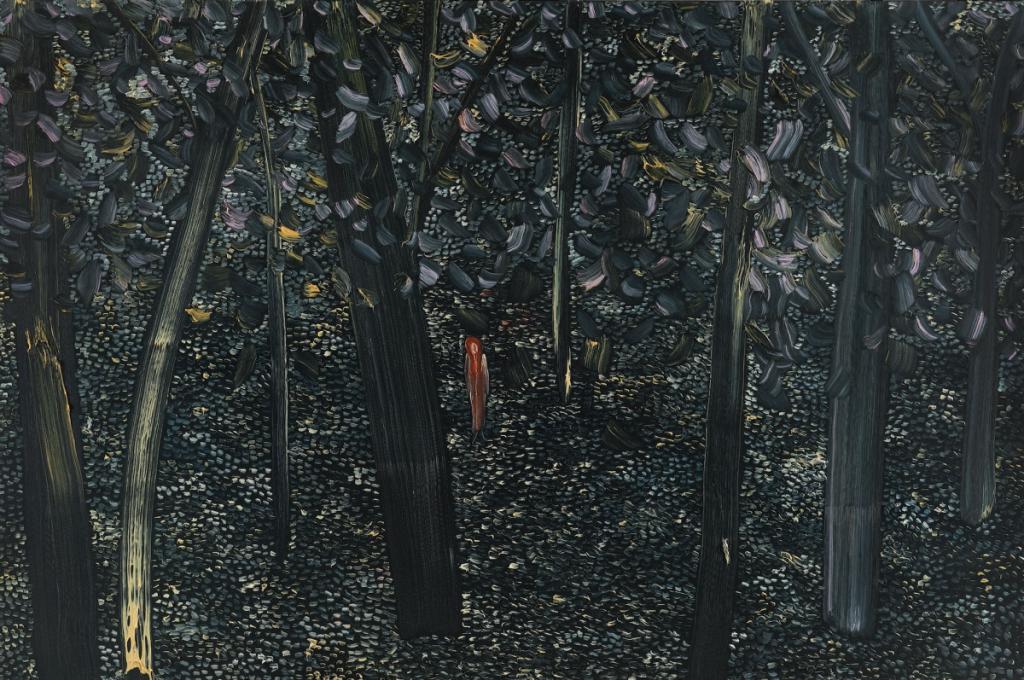 Matthew Wong painting