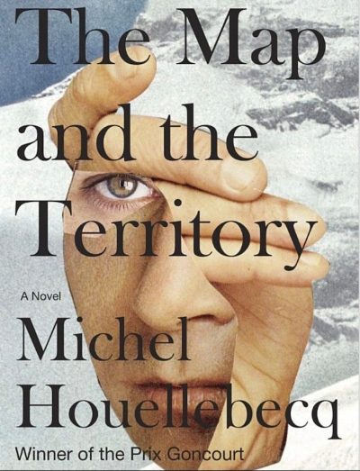 Cover of Michel Houellebecq's novel The Map and the Territory