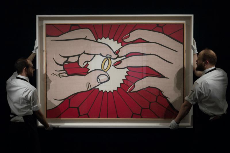 Roy Lichtenstein, The Ring