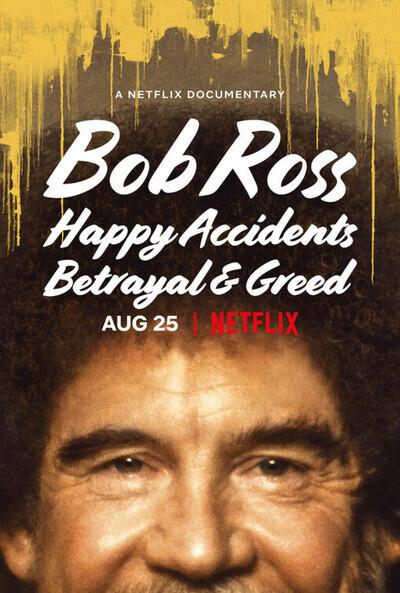 bob ross documentary poster