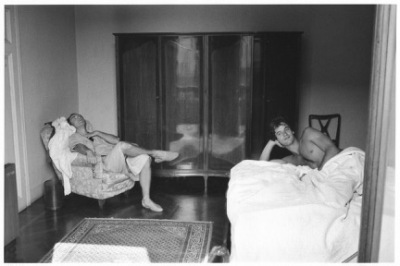 Herve Guibert, Han Georg et Thierry a Montecatini, 1983.