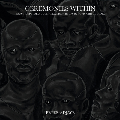 the cover of the album Ceremonies Within shows a drawing by Toyin Ojih Odutola of several Black men